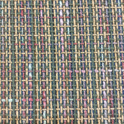 """Textured Openweave in Variegated Green and Tan   54""""   BTY   Extra Durable"""