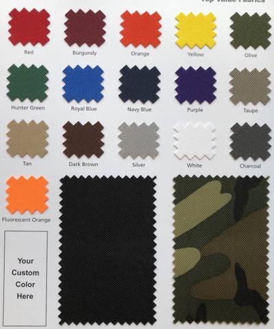 "Purple - Vinyl Backed Nylon Fabric |  600X300 Denier | 58"" Wide | BTY"