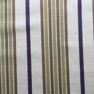 Vertical Muted Stripes Upholstery / Drapery Fabric   54 wide   BTY   Linen-like
