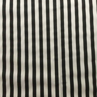 """Narrow Black and White Stripes 