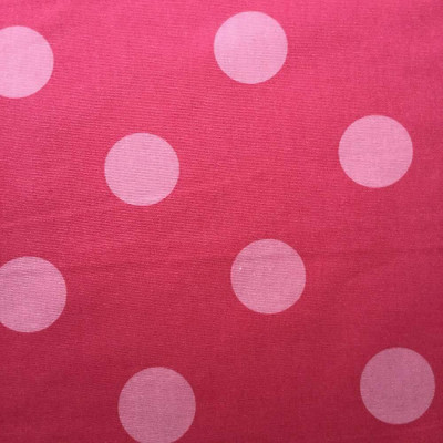 """Polka Dots in Two-tone Pink 