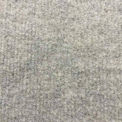 """Light Grey Ribbed Marine Carpet   54"""" Wide   Used in Cars, RVs, Boats   UV Fade and Mildew Resistant   By the Yard"""