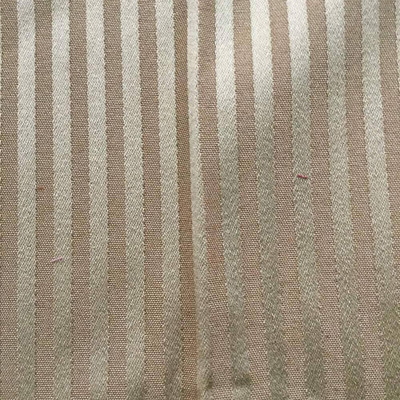 """Elegant Stripes in Toffee Upholstery Fabric   By Stroheim   54"""" W   By the Yard"""