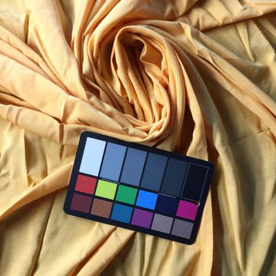 Mango Orange Linen Weave Fabric   Woven Blend   Apparel Skirts Drapes Upholstery Crafts