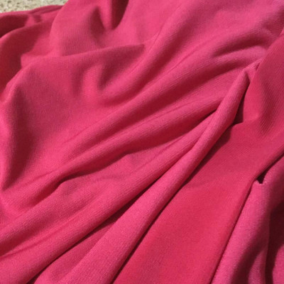 Hot Pink Stretch Knit Fabric | Lightweight Apparel | Dresses, Skirts, Activewear
