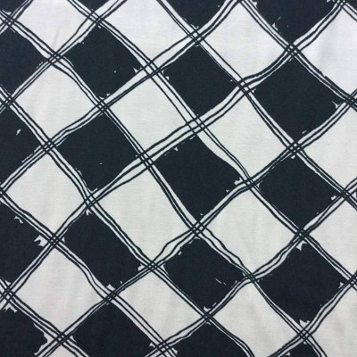 """Harlequin Diamonds in Black and White 