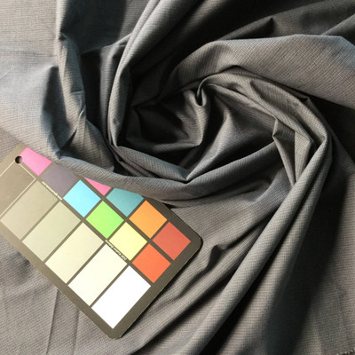 Gray Blue Navy Shirting Fabric | Woven Poly-cotton blend | Dress Shirts Apparel