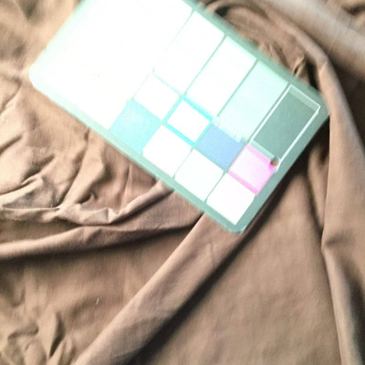 Brown Poly Cotton Fabric   Lightweight Woven   Apparel Linings Drapes