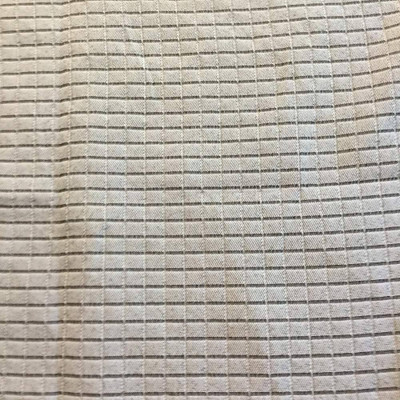 Black and White Square Textured Woven Fabric | Poly Blend | Apparel Sweaters Upholstery