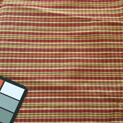 Red and Orange Plaid | Upholstery / Slipcover Fabric | 56 Wide | By the Yard