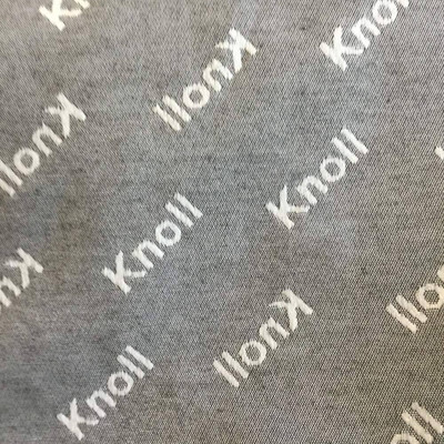 """Gray and White """"Knoll"""" 