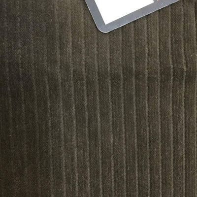 Plush Brown Stripes | Heavyweight Upholstery Fabric | 54 Wide | By the Yard