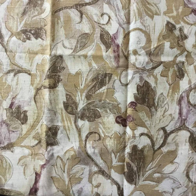 Ivy Trail in Brown by Sandpiper Studios   Home Decor Fabric   54 W   By the Yard