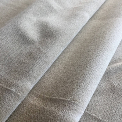 Taupe | Velvet Upholstery Fabric | Home Decor | 54 Wide | By the Yard | Soft