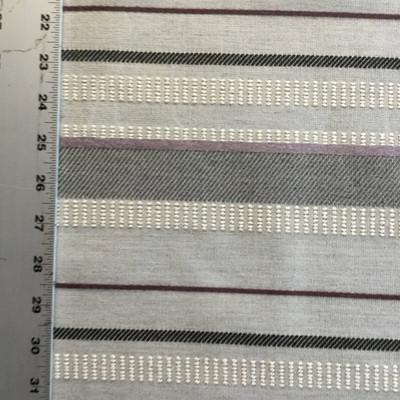 Loomed Gravel   Gray / Purple / White   Sunbrella Fabric   Upholstery   54 Wide