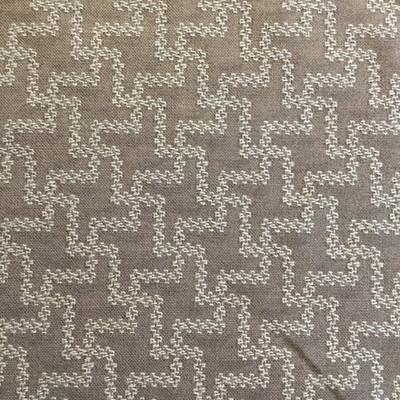 Pinwheel Geometric Brown   Sunbrella Fabric   Upholstery / Slipcovers   54 Wide