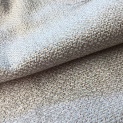 Tone on Tone Beige Upholstery Fabric | Slipcover / Drapery | 54 W | By the Yard