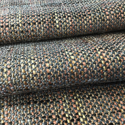 Pink / Gray Modern Boho Chic Fabric | Heavyweight Upholstery | 54 Wide | BTY