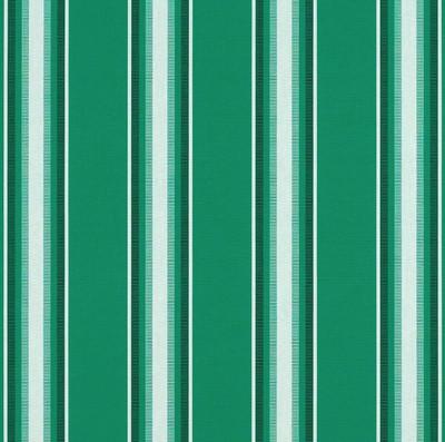 4754-0000 | Green Fancy Striped  Sunbrella | 46 Inch | Marine And Awning