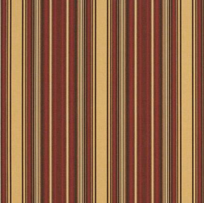 4828-0000 | Granville Mahogany Striped  Sunbrella | 46 Inch | Marine And Awning