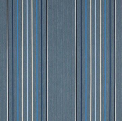 4895-0000   Motive Denim Striped  Sunbrella   46 Inch   Marine And Awning