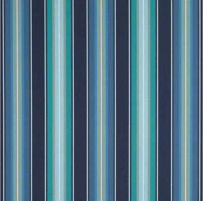 """Sunbrella® Awning Stripe 4884‑0000 Saxon Cascade 46"""" Fabric"""