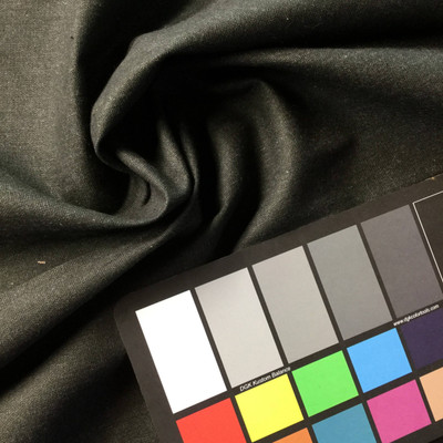 Charcoal Poly/Cotton Fabric | Apparel | Slipcovers | 45 W | BLOWOUT ITEM