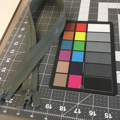 molded plastic zipper