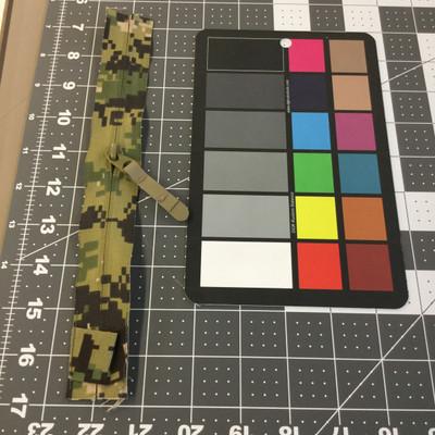 "8.25"" Coil Zipper | Green Digital Camouflage | Military Repair | Bags / Pockets"