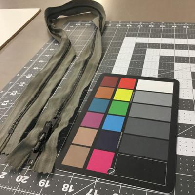 42.5 Metal Zipper - 3 pulls | Foliage Green | Military Repair | Duffel Bag