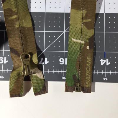 """30"""" Separating Coil Zipper   Camouflage    Military   Jacket Zipper"""