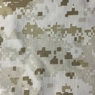 Desert Camo Tan | Nylon Gore-Tex Fabric | Waterproof Outdoor Apparel / Bags | 54 Wide | By the Yard