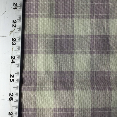 """Plaid Lavender and Beige 