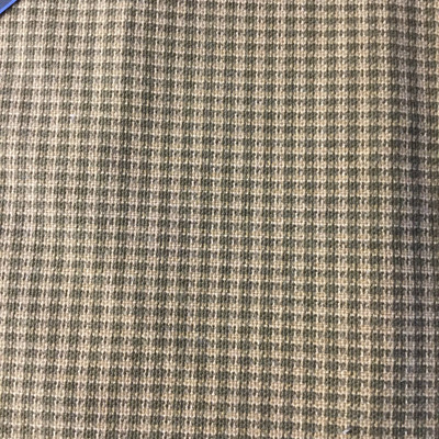 """Micro Houndstooth Brown / Tan   Home Decor Fabric   54""""  Wide   By the Yard"""