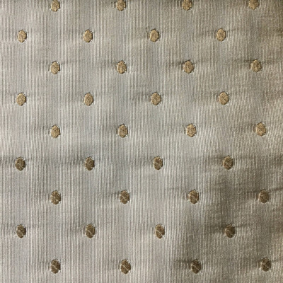 Beige with Tan Dots   Slipcover / Drapery Fabric   54 Wide   By the Yard
