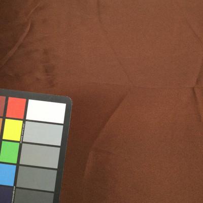 chocolate brown poly satin fabric