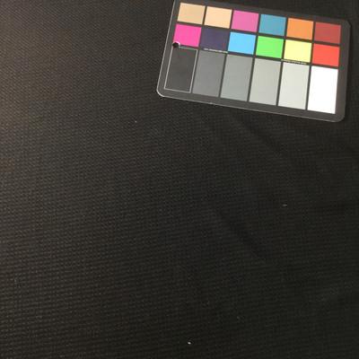 black textured knit fabric