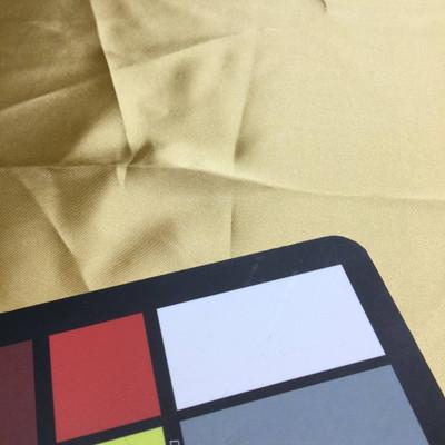 light gold poly satin fabric