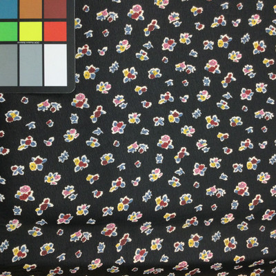 small print floral fabric