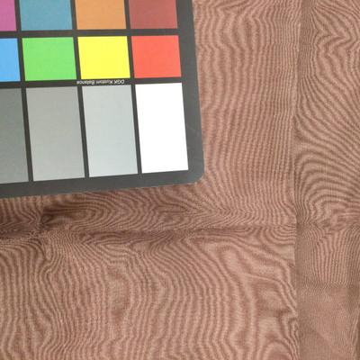 deep brown organza fabric