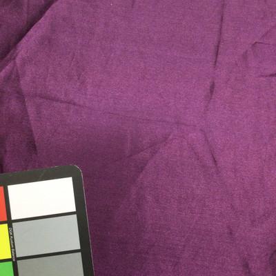 dark purple poly satin fabric