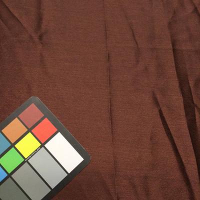 brown poly satin fabric