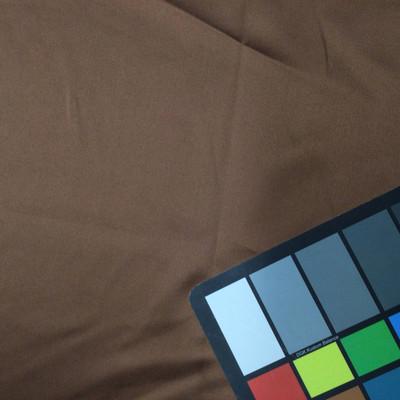 medium brown poly satin fabric
