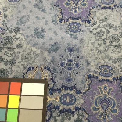 paisley chiffon fabric