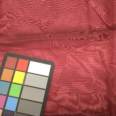 wine burgundy organza fabric