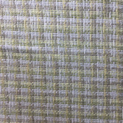 green yellow textured woven fabric