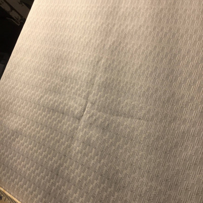 ivory textured woven fabric
