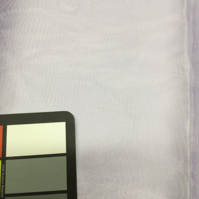 lilac purple organza fabric