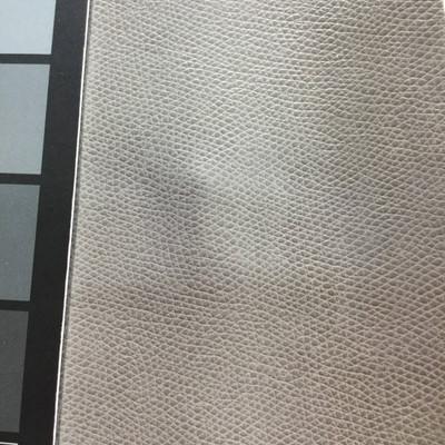 2.8 Yard Piece of Faux Leather Vinyl Fabric   Grayish Green Light Grain   Felt-Backed   Upholstery / Bag Making   54 Wide