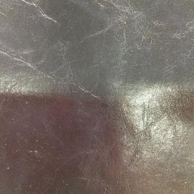 3.8 Yard Piece of Faux Leather Vinyl Fabric   Navy Blue Medium Grain   Felt-Backed   Upholstery / Bag Making   54 Wide